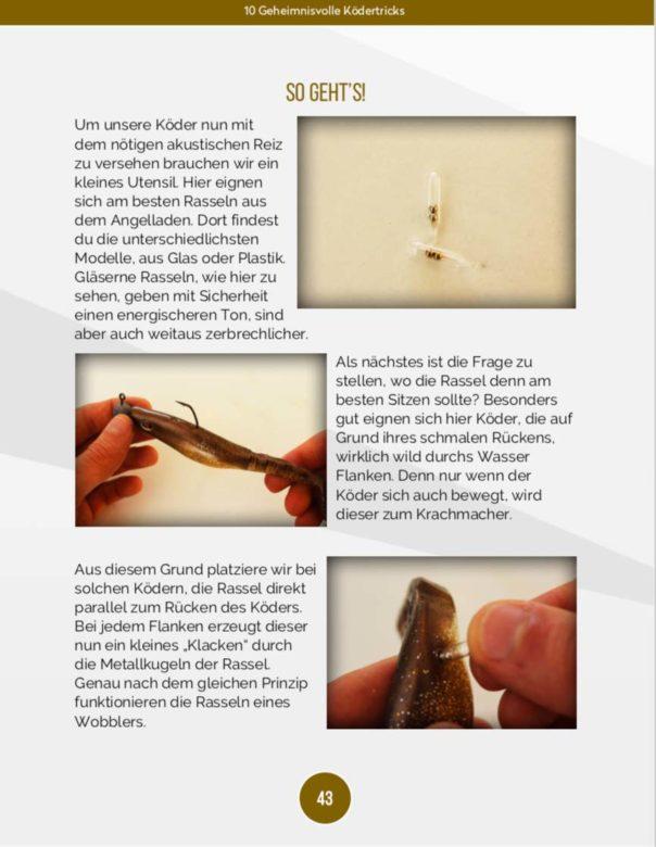 10 geheimnisvolle Ködertricks - Gummiköder mit Rassel