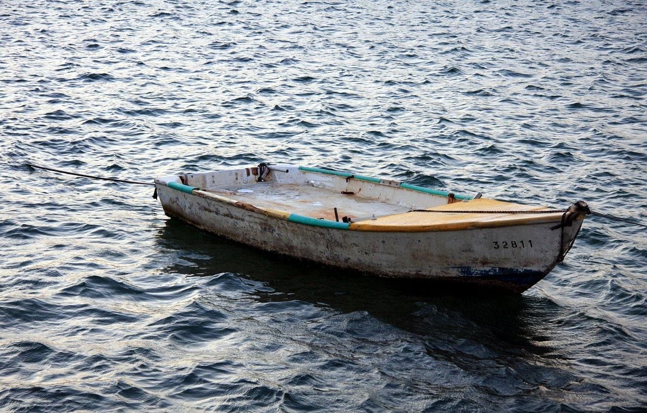 Handangeln - Fischerboot