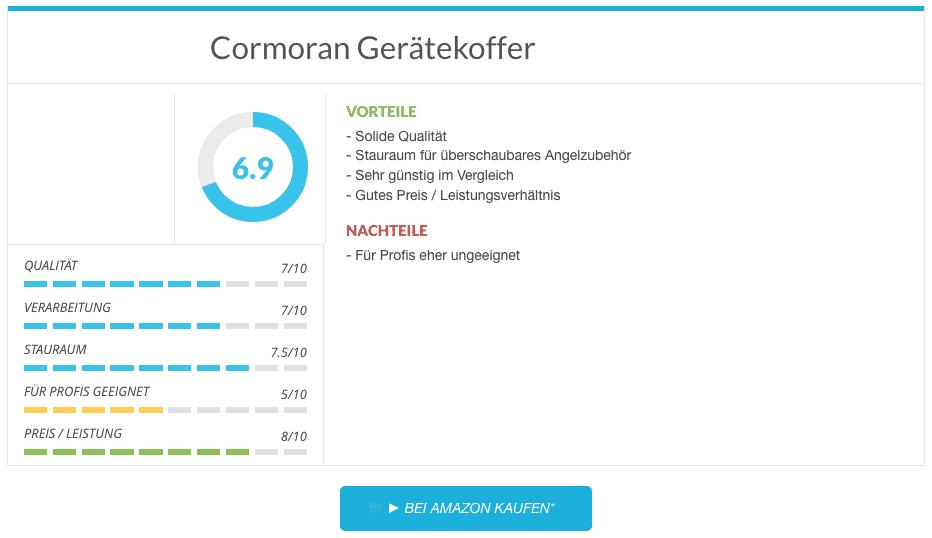 Angelkoffer Cormoran Gerätekoffer