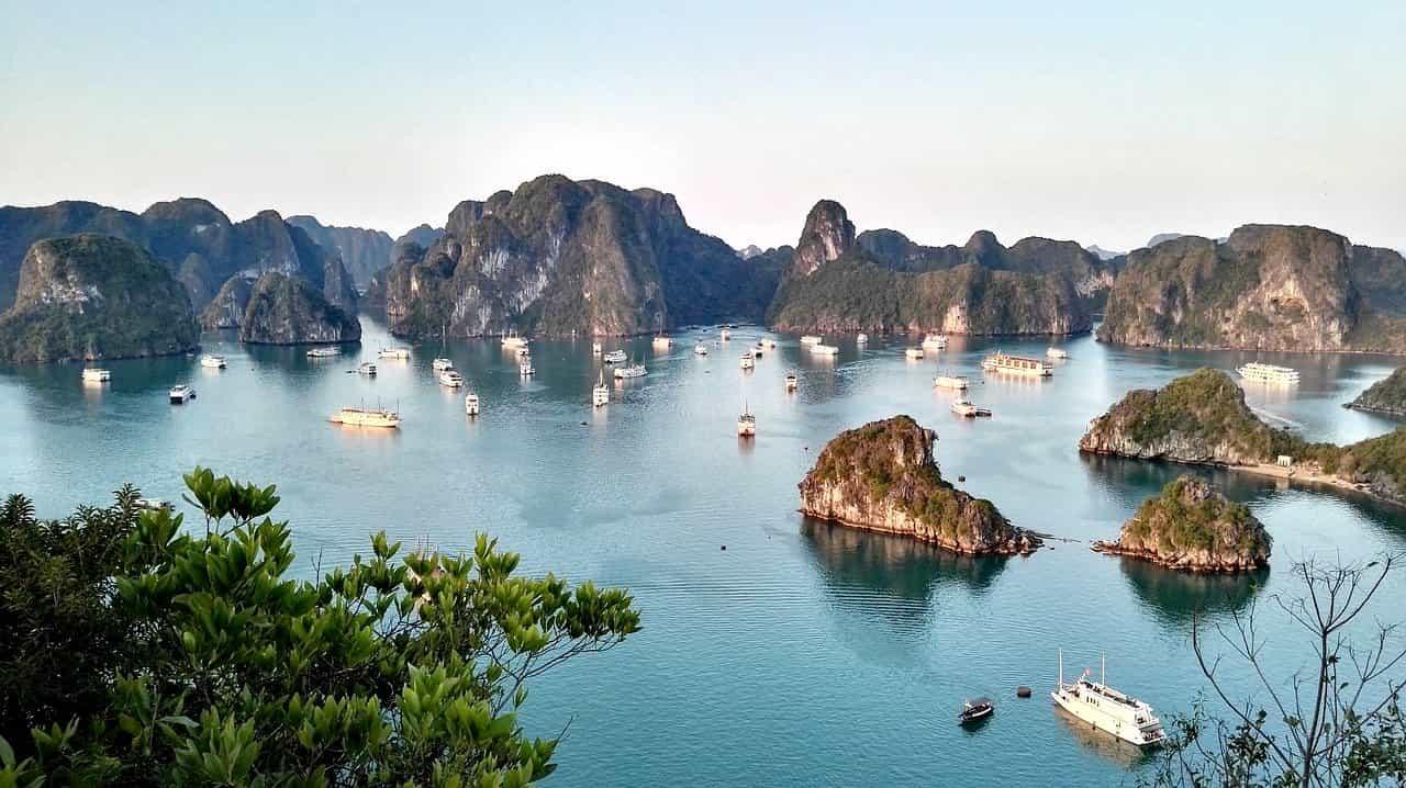 Angelplätze Vietnam Tintenfisch-Angeln Halong Bucht