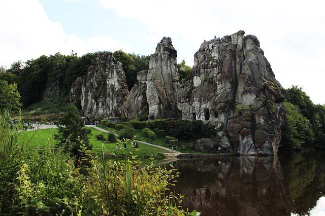 Angelschein Detmold Externsteine Teutoburger Wald NRW