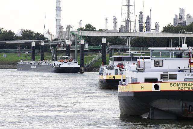 Angelschein Dormagen Rhein Schiffe