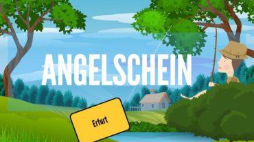 Angelschein Erfurt – unkompliziert zum Fischereischein in 4 Schritten