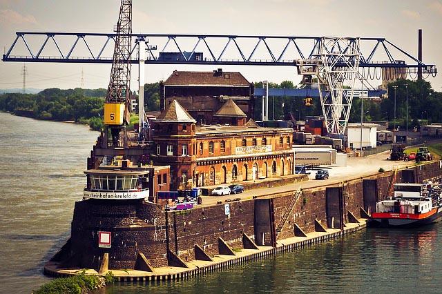 Angelschein Krefeld Hafen