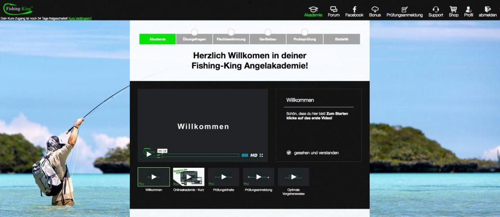 Angelschein Lübeck Fishing King Akademie