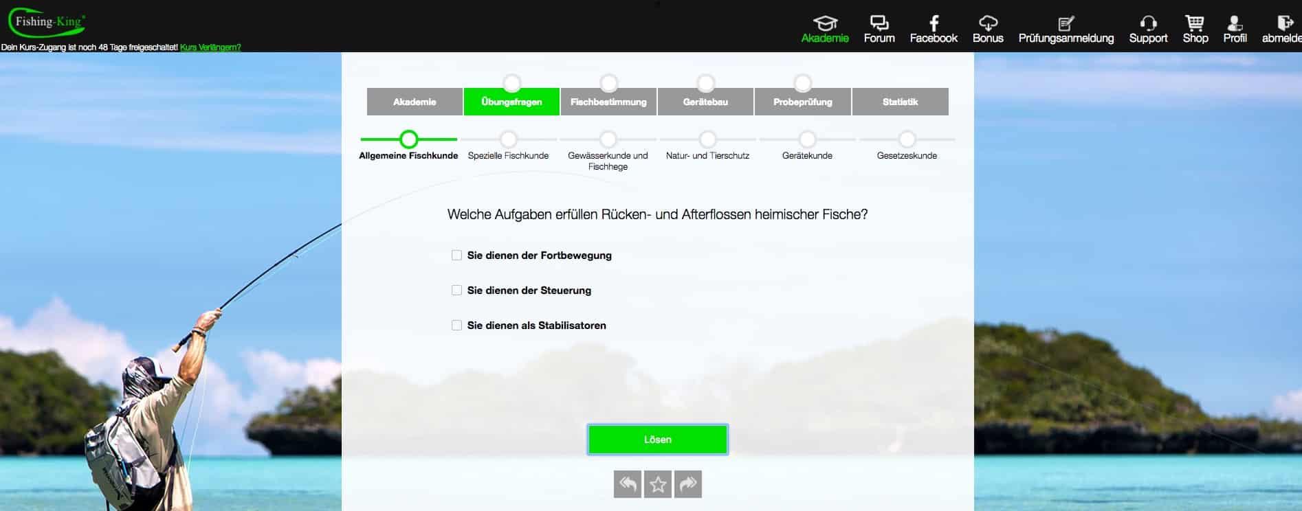 Angelschein Niedersachsen Prüfungsfragen download