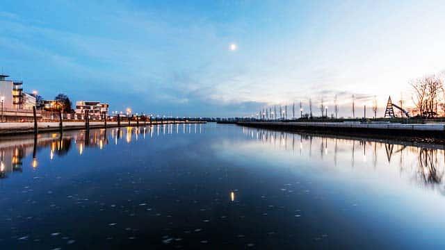 Angelschein Wedel Hafen Elbe