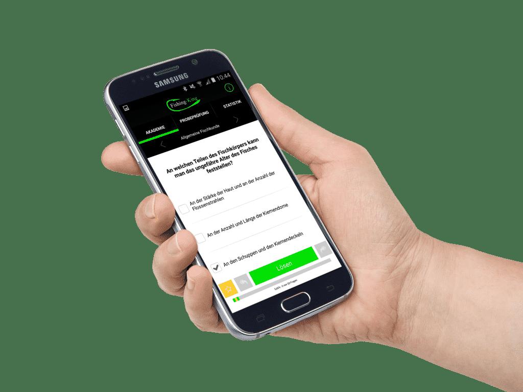 Angelschein online machen Android App