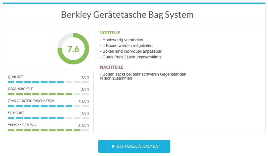 Berkley Gerätetasche Bag System