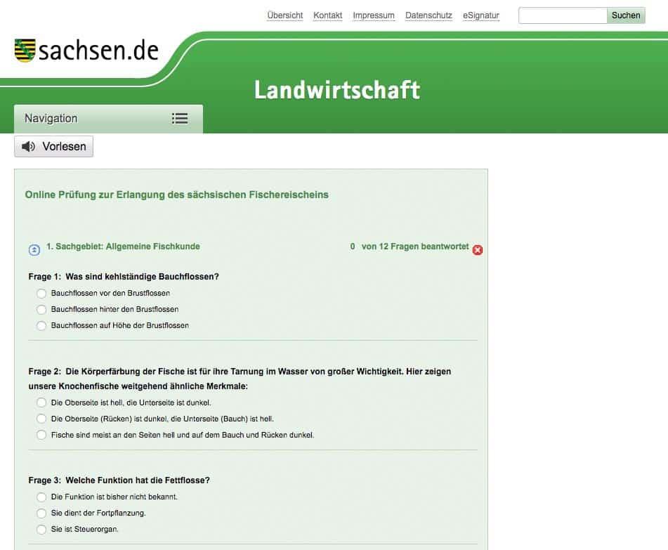 Angelschein Prüfung Leipzig Probeprüfung
