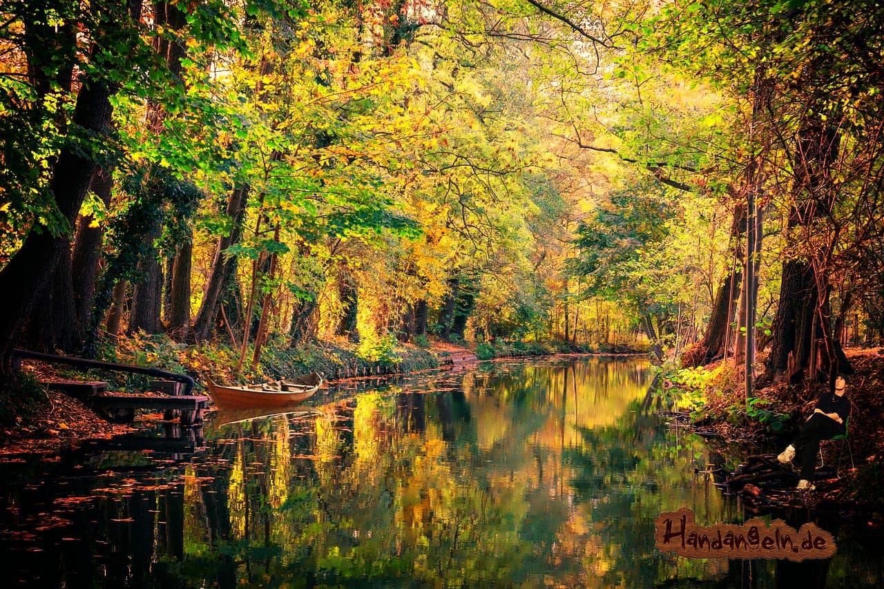 Barschangeln Spreewald Kanal