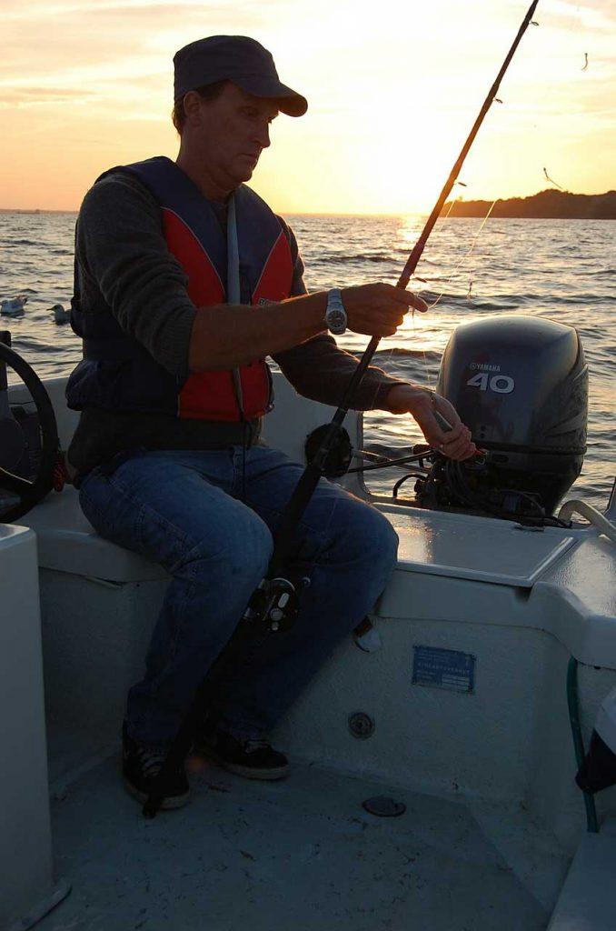 Bootsangeln mit Pilkrute