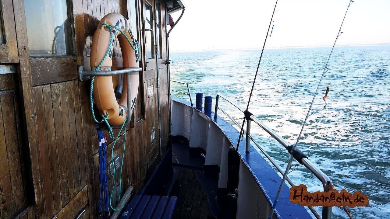 Dorschangeln Nordsee Hochseekutter