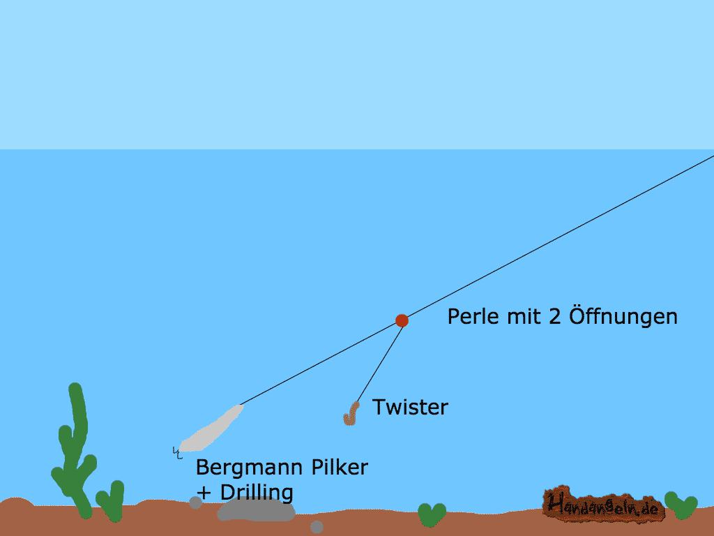 Dorschmontage - Pilkermontage