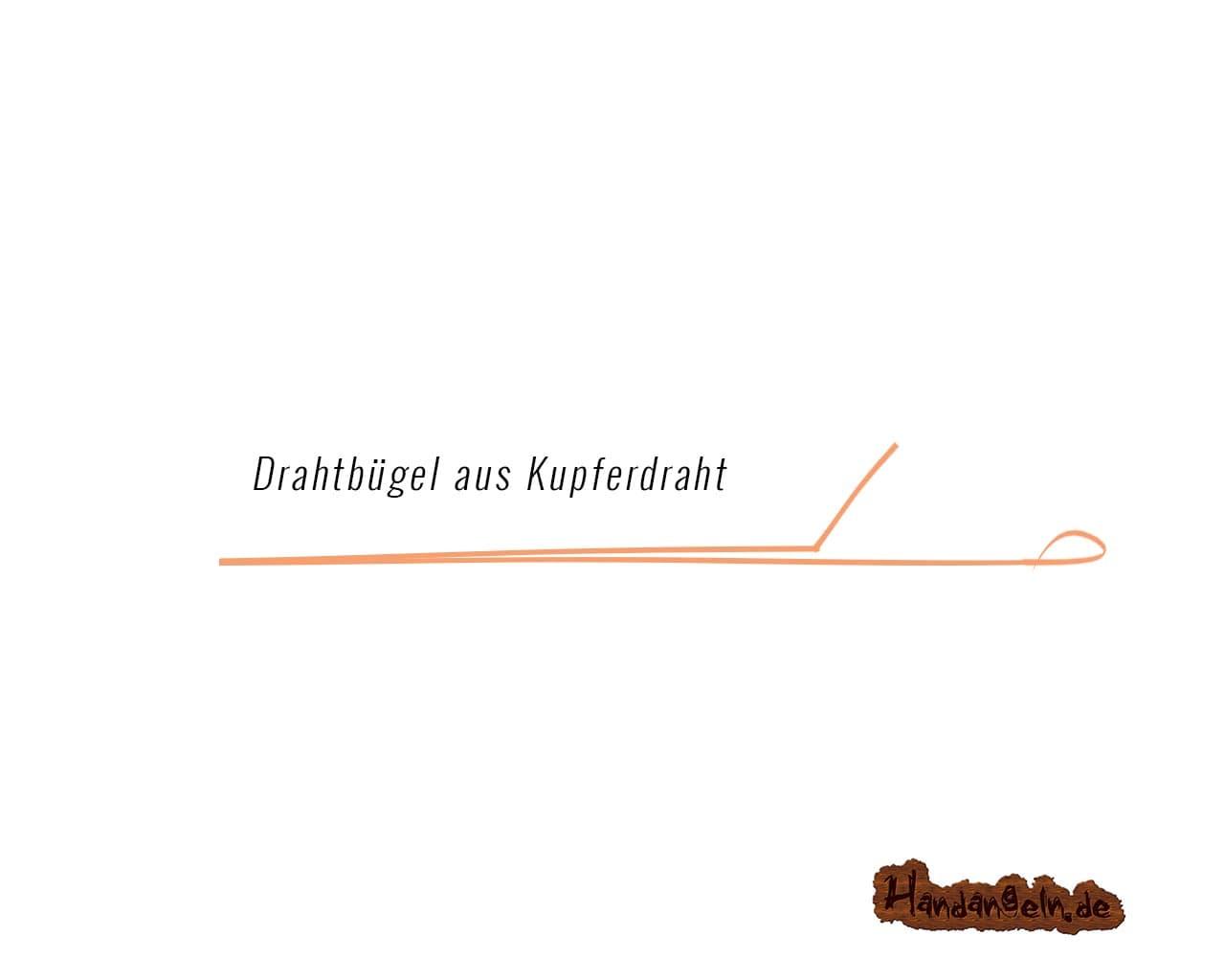 Illustration Drachkovitch System Montage Schritt 2 Draht biegen