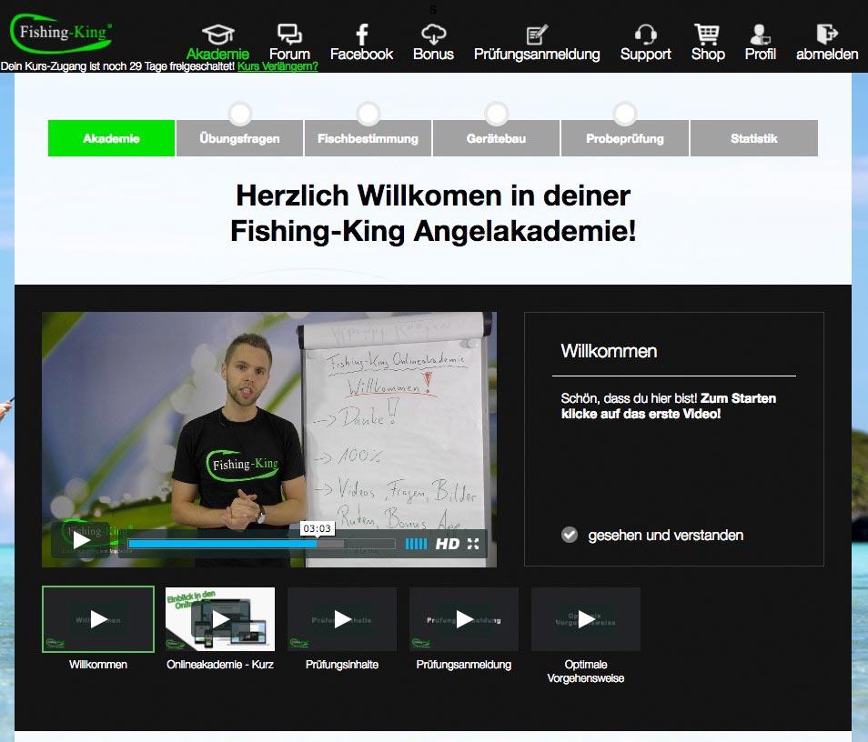 Fischereischein Chemnitz Online Akademie Fishing King Fischereischeinlehrgang