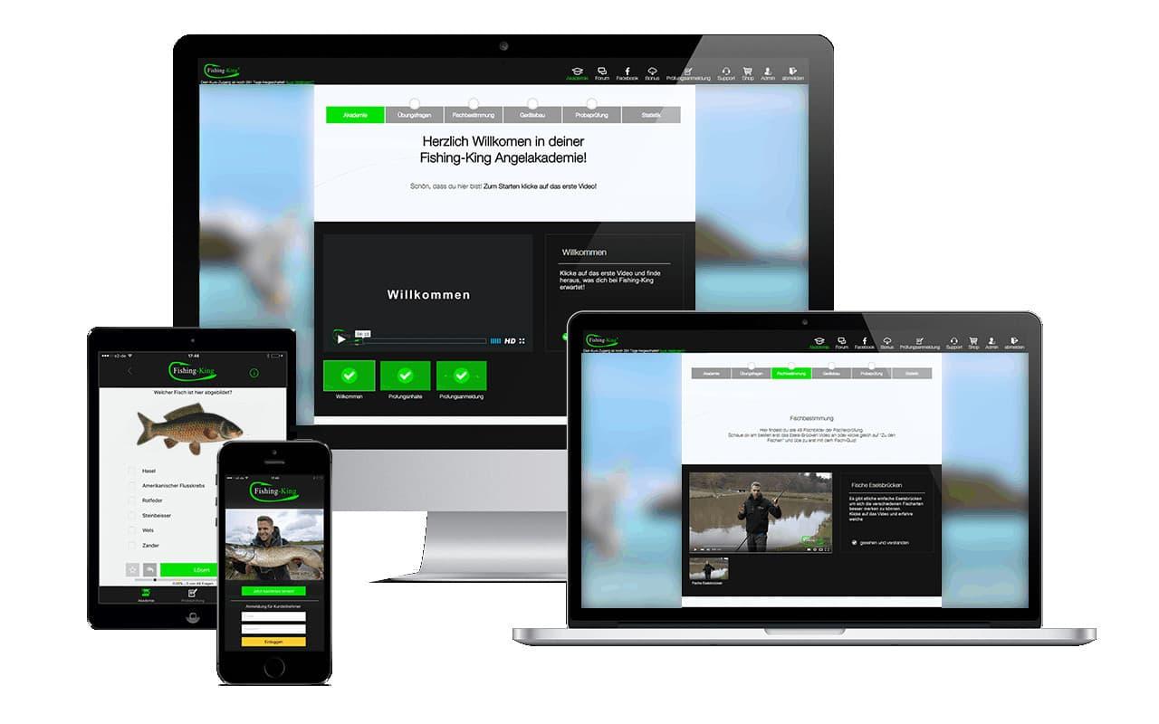 Fischereischein Thüringen online mit Fishing King
