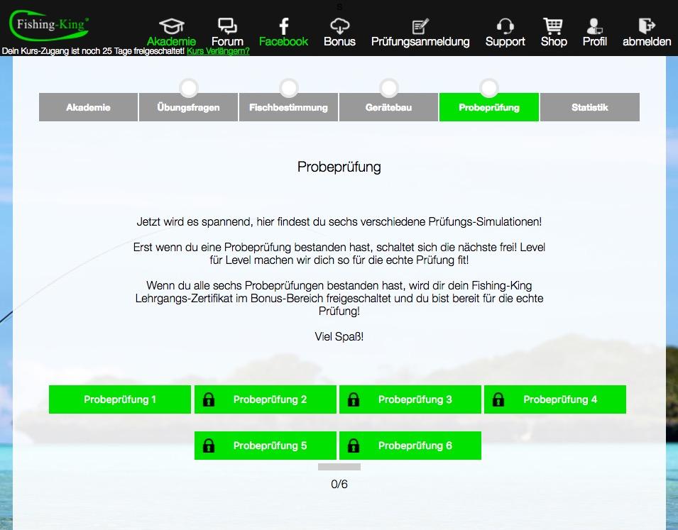 Fischerprüfung Hessen Online Test