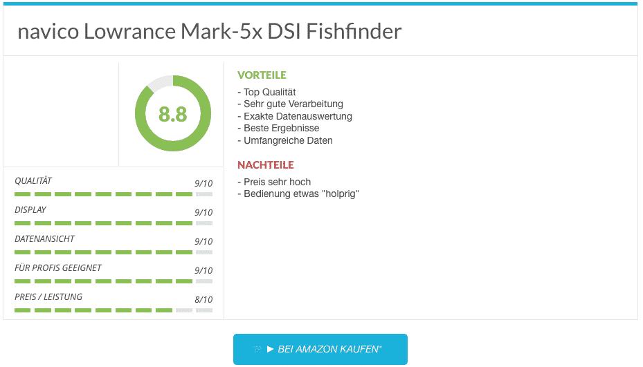 navico Lowrance Mark-5x DSI Fishfinder