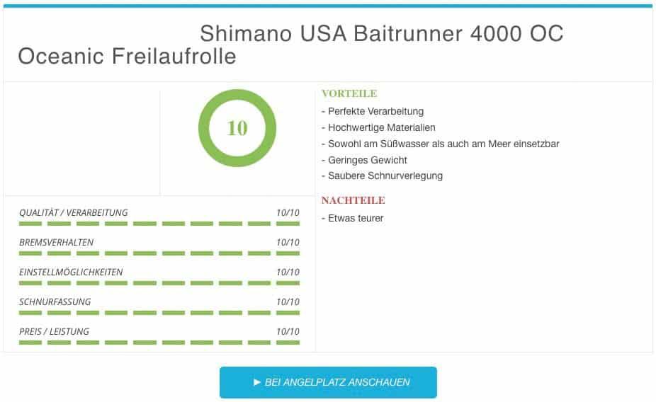 Shimano Usa Baitrunner 4000 Oceanic Ergebnis