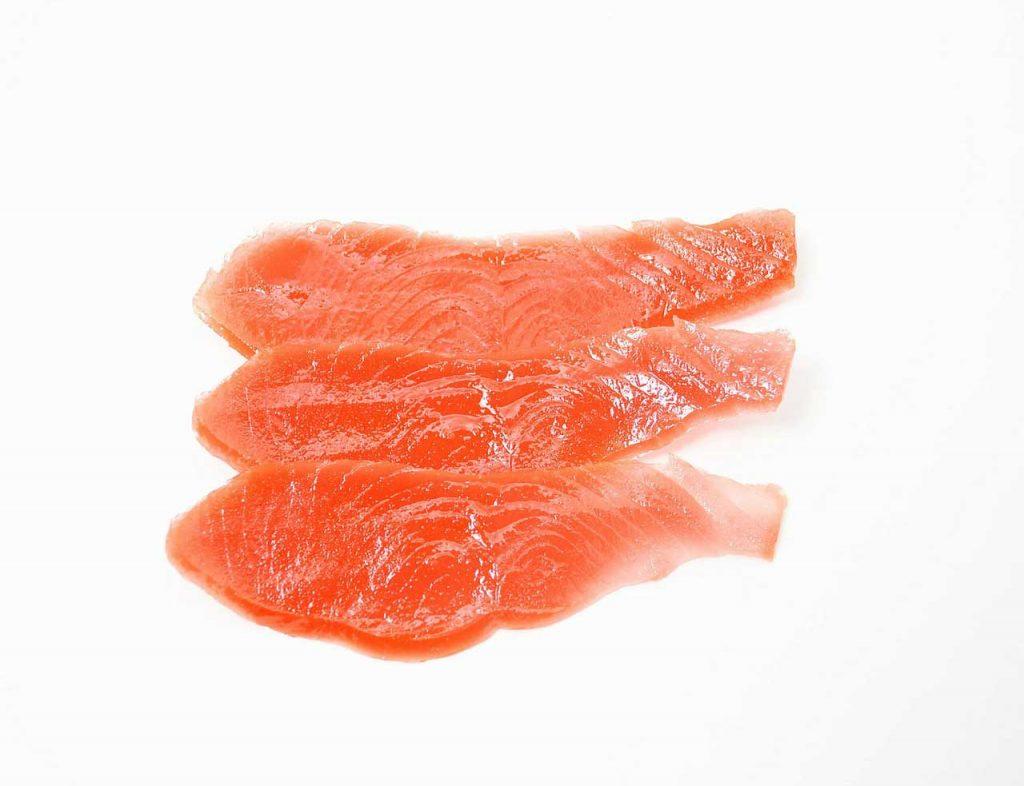 Geräucherter Lachs als Stör Köder