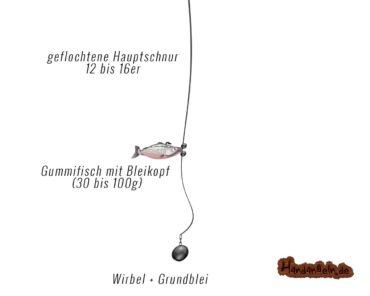 Grundmontage: Top 10 für Forelle Zander Hecht Aal etc. zum Grundangeln