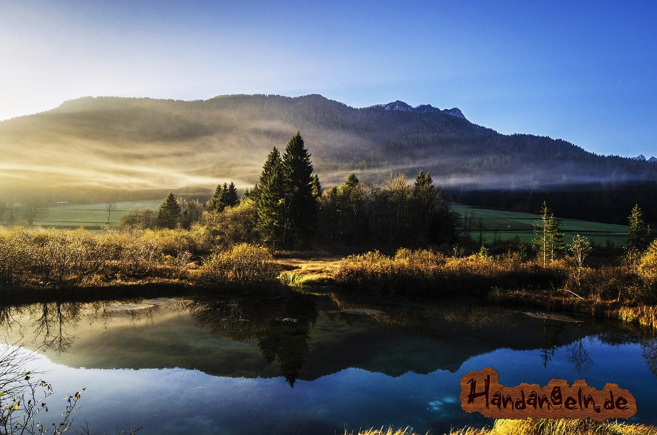 Hechtangeln Tageszeit morgens Morgendämmerung Hecht