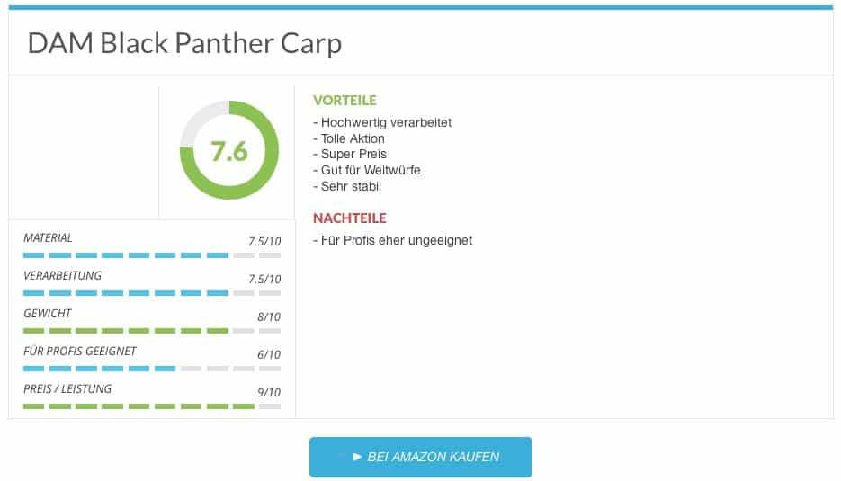 DAM Black Panther Carp