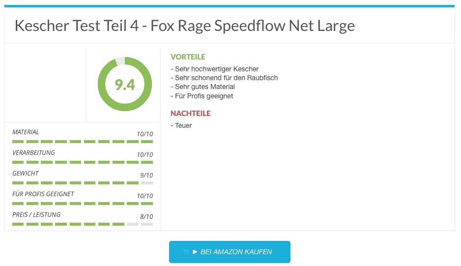 5 Fox Rage Speedflow Raubfischkescher