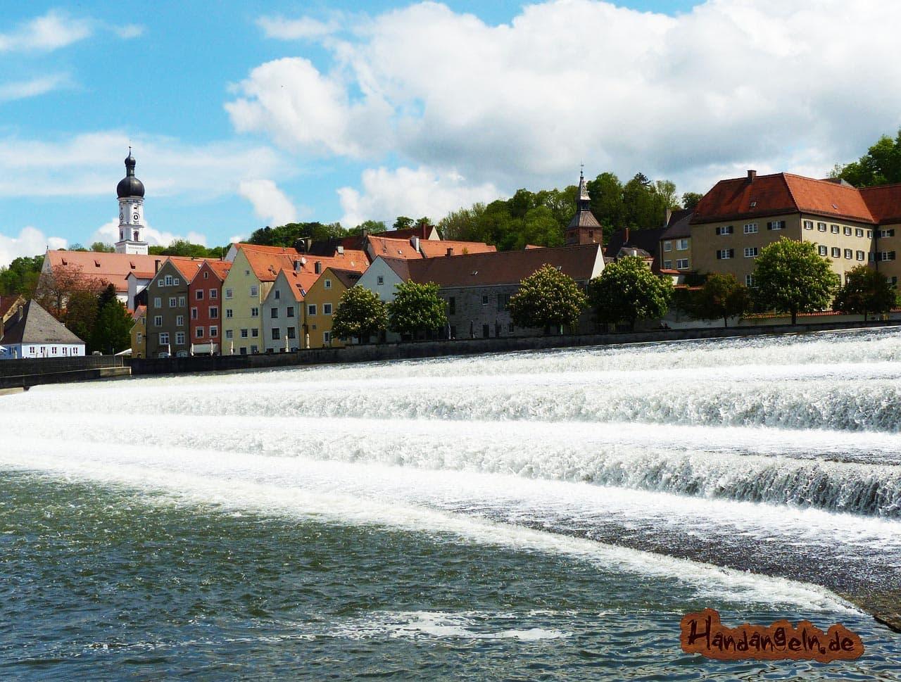 Rapfen angeln Sommer Landsberg am Lech