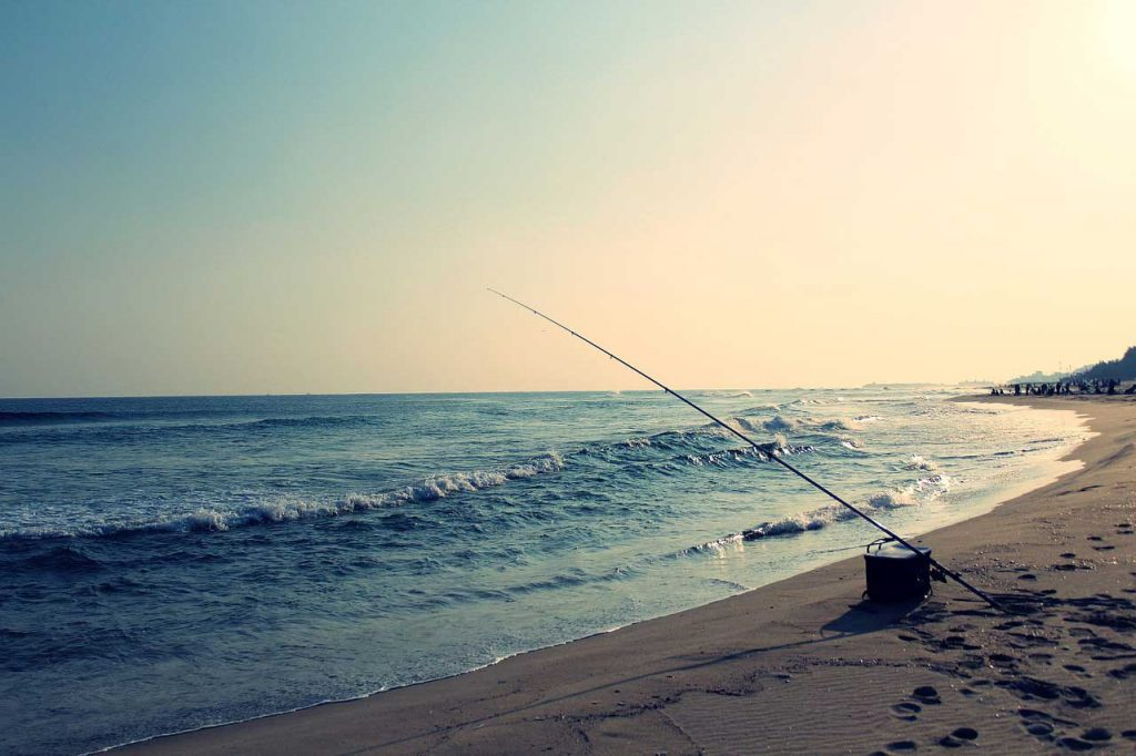 Reisruten Angelurlaub Strand
