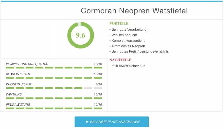 Cormoran Neopren Watstiefel gruen oliv Ergebnis