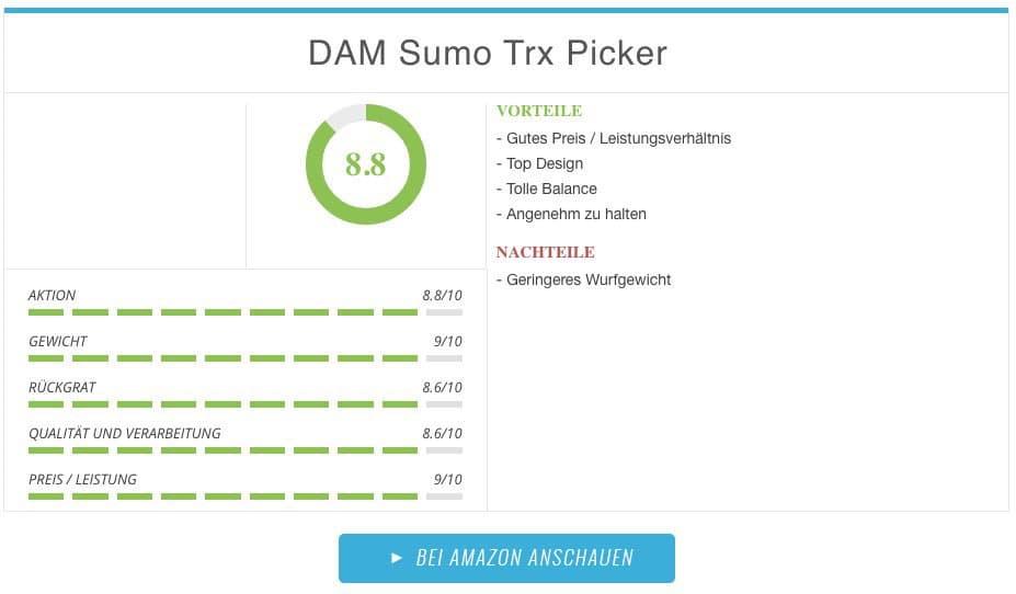 DAM Sumo TRX Picker Winkelpicker Ergebnis