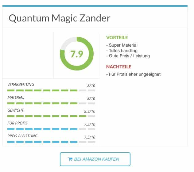 Zanderrute - Quantum Magic Zander