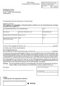 Zulassung Angelschein Aachen Fischerprüfung